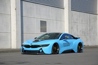 BMW-News-Blog: Maxklusiv-BMW i8 im Carbon-Outfit - BMW-Syndikat
