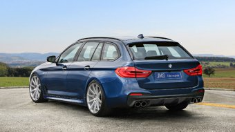 BMW-News-Blog: JMS Fahrzeugteile: Bodykit für BMW 5er Touring (G3 - BMW-Syndikat