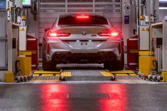 BMW-News-Blog: BMW M8 Gran Coupé (F93): Produktionsstart in Dingo - BMW-Syndikat