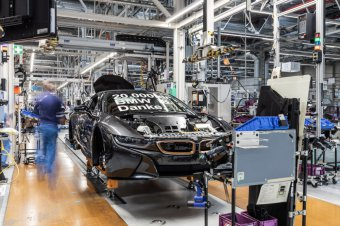 BMW-News-Blog: BMW_Werk_Leipzig__20_000ster_BMW_i8