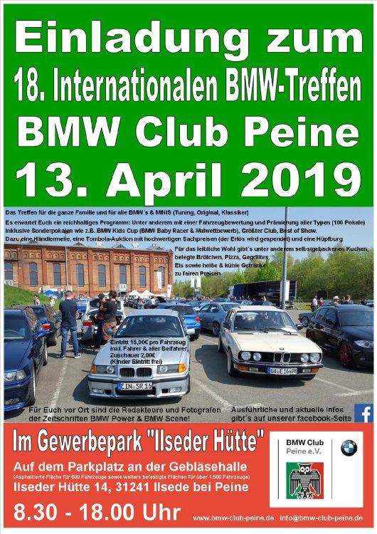 18 Bmw Treffen Des Bmw Club Peine 2019 Alle Tuning Treffen