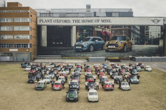 BMW-News-Blog: MINI-Werk Oxford: Der zehnmillionste MINI - BMW-Syndikat