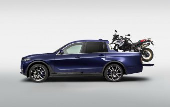 BMW-News-Blog: Einzelstück: BMW X7 Pick-up - BMW-Syndikat