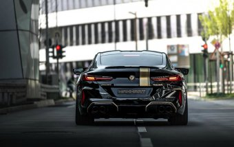 BMW-News-Blog: MANHART MH8 800: Tuning beim M8 Competition - BMW-Syndikat